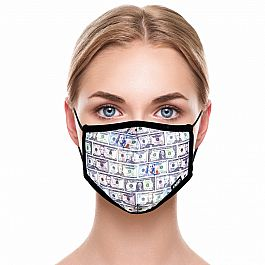 Adult Face Mask - Cash Money