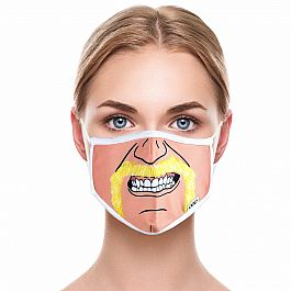 Adult Face Mask - Hulk Hogan