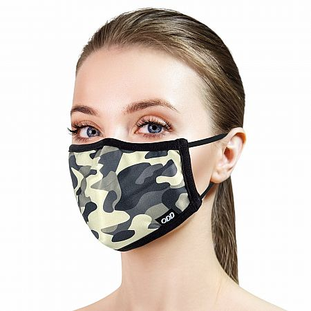 Adult Face Mask - Jungle Camo
