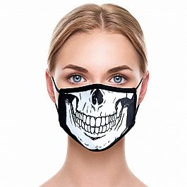 Adult Face Mask - Skeleton