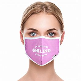 Adult Face Mask - I'm Smiling