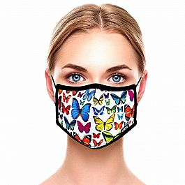 Adult Face Mask - Butterflies