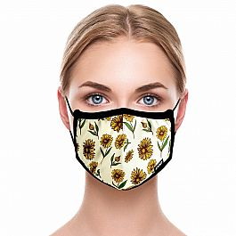 Adult Face Mask - Sunflowers
