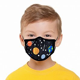 Youth Face Mask - Planets