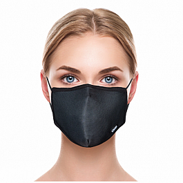 Adult Face Mask - Basic Black