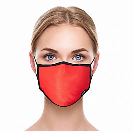 Adult Face Mask - Basic Red