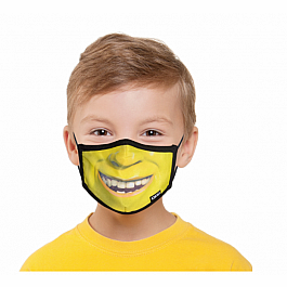 Youth Face Mask - Shrek Face