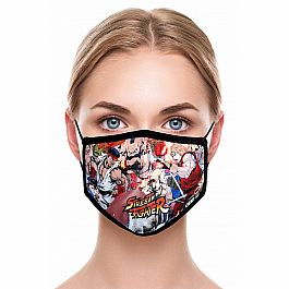 Adult Face Mask - Street Fighter