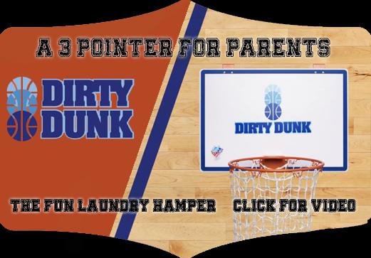 Dirty Dunk Laundry Hamper