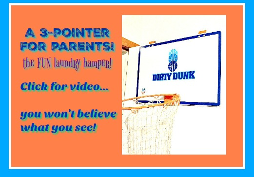 Dirty Dunk Laundry Hamper