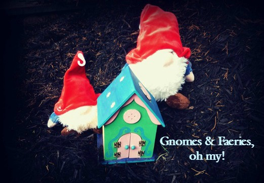 Gnomes with fairy house toys lynchburg va