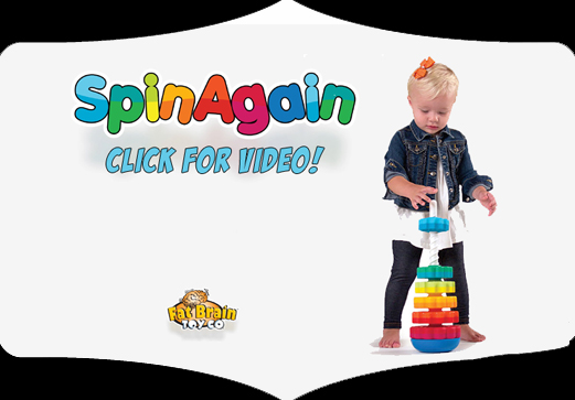 SpinAgain Fat Brain Toys Little Dickens Givens Lynchburg Virginia