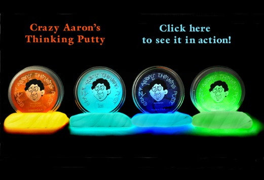 Click for fun review of Aaron's Thinking Putty
