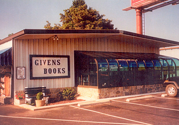 Givens Books Sun-room addition in 1996.