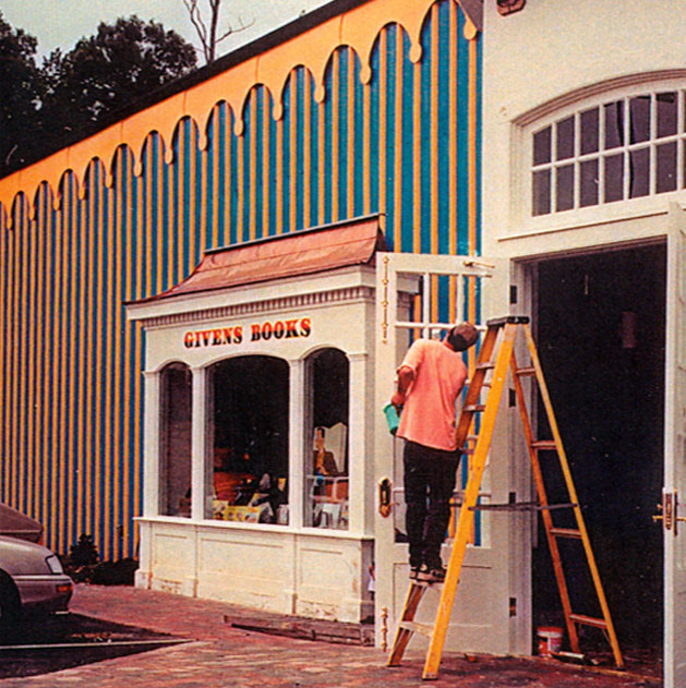 New facility being constructed in 1999 at new location which will merge Givens Books and Little Dickens.
